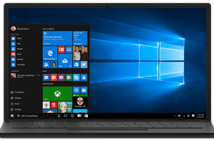 Special Feature Sawyer Solutions image to include windows10 laptop