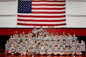 Warrior Wrestling Group Photo