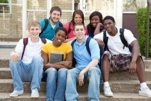 bigstock A multi racial group of Colleg 20321627