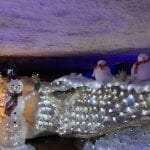Santa's Underground Workshop at Rickwood Caverns State Park!