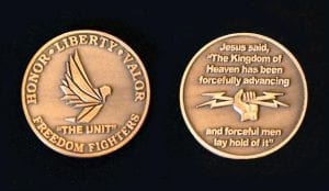 """Transformation Ministries """"The Unit"""" Coin"""