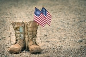 bigstock Old Military Combat Boots With 244522432