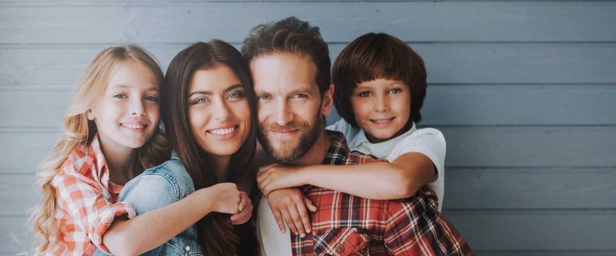 bigstock Portrait Of Happy Parents With 238646086