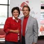 Terry and Nick Saban