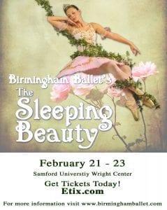 Ad Birmingham Ballet Sleeping Beauty 2020 BCF Ad