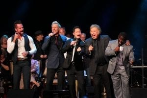 Gaither Vocal Band singing on stage2