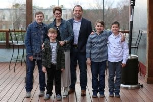 Whitney Capps Family
