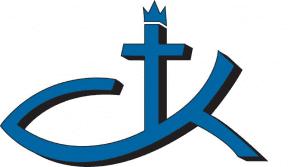 ad christ the king church logo graphic