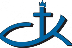 ad christ the king church logo graphic