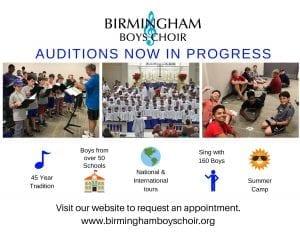 audition invitation graphic