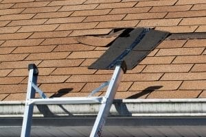bigstock Damaged Roof Shingles Repair 6831104