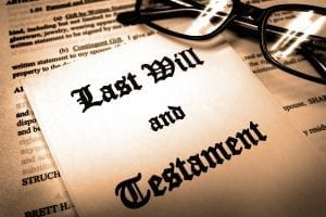 bigstock Last will and testament for Es 285633586