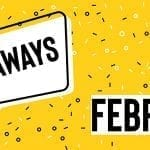 February 2020 Giveaways
