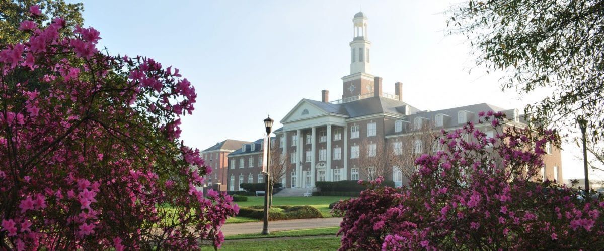 special feature Judson College campus view