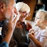 bigstock Happy Grandparents With Grandc 355174133