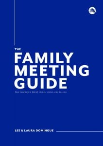 Special Feature Kingdom Builders COVER ART family meeting book