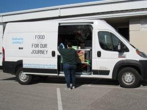 church leaders food drive ols food truck IMG 2206