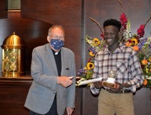 Murai Receiving Award