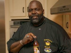 Big Daddy BBQ Sauce's Dwayne Thompson