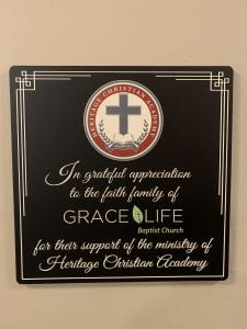 Miracle Moments HCA Plaque