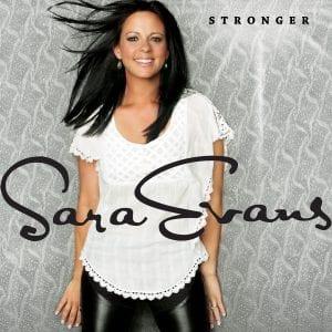 Sara Evans Stronger cover art Credit Russ Harrington