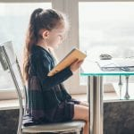 bigstock School Girl Is Studying Onlin 361797427