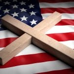 bigstock Usa And Christianity Christia 251286517