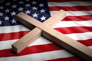 bigstock Usa And Christianity Christia 251286517