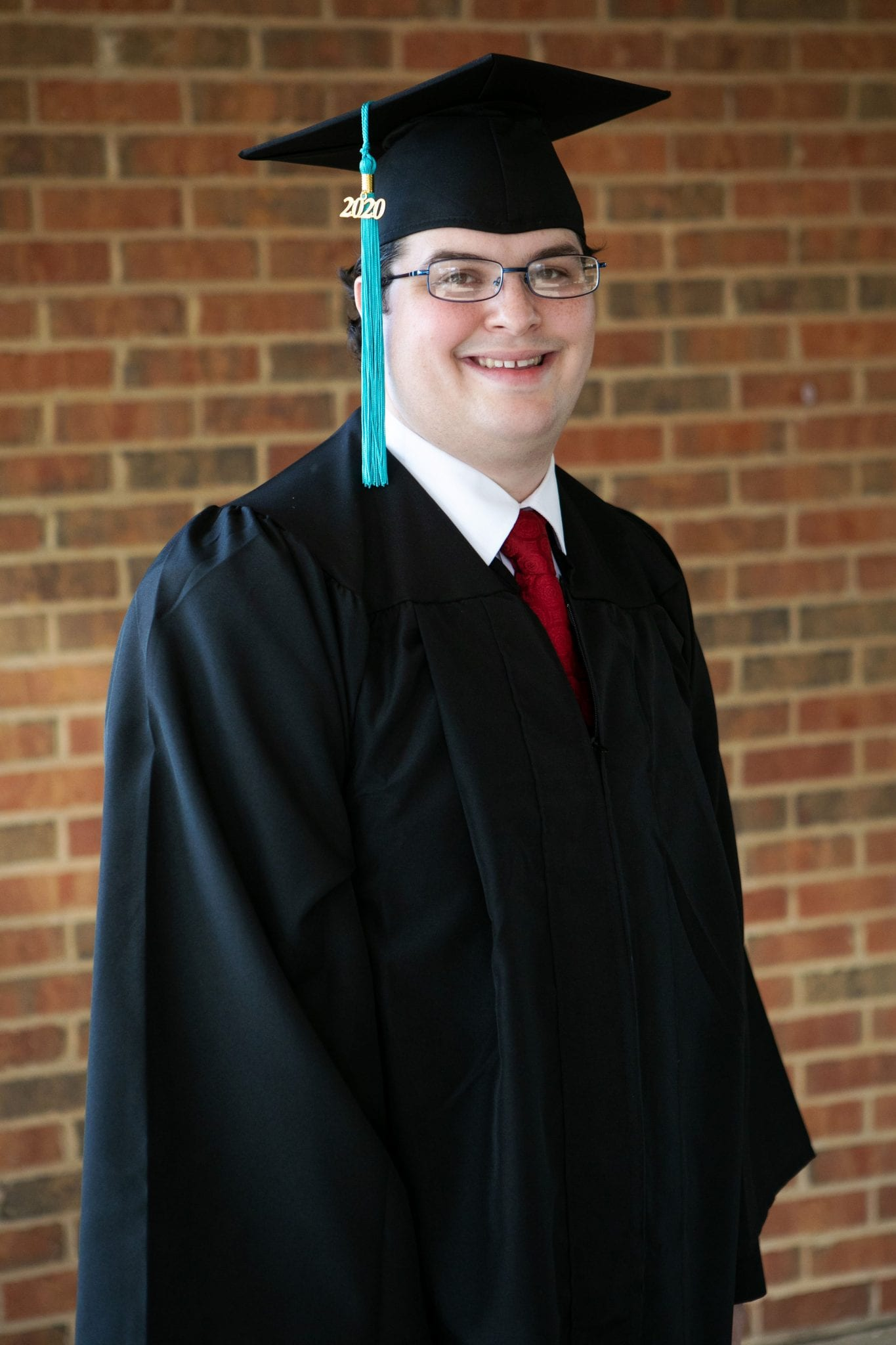 Daniel in his Cap and Gown
