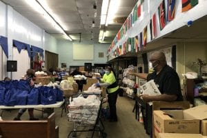 Mission Makers Daniel Cason food distribution 2