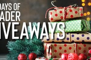 12 days of giveaways FEATURE IMAGE
