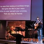 Music Notes Putting Music to God s Word Wright Singing on stage dec 2020 BCF
