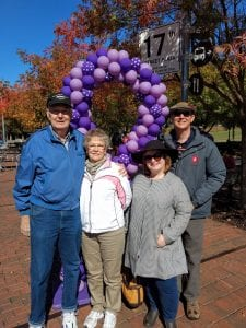 Garland Stansell's Family at the 2019 Walk to End Epilepsy