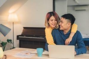 Couple Managing Finances