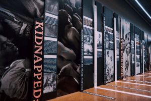 Legacy Museum Slavery Evolved Wall photo credit Equal Justice Initiative