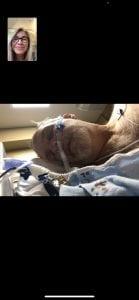 Dr Jeffrey C. Davis Sheri Davis Praying Over Dr. Davis Via FaceTime