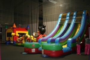 Expo 2020 Inflatable Slide