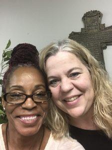 Brenda Bush with Melinda
