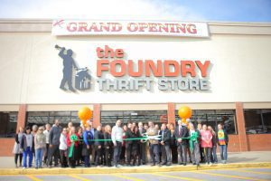 Foundry Thrift Store Pelham Opening