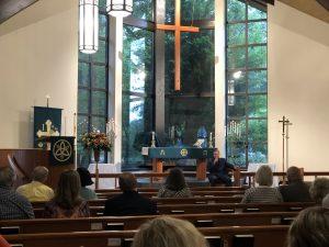 Pastor Ahlemeyer Preaching