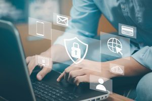 bigstock Concept Of Cyber Security Inf 419941522
