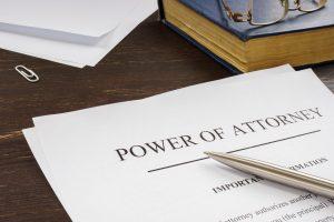 bigstock Power Of Attorney Poa Legal Do 418348240