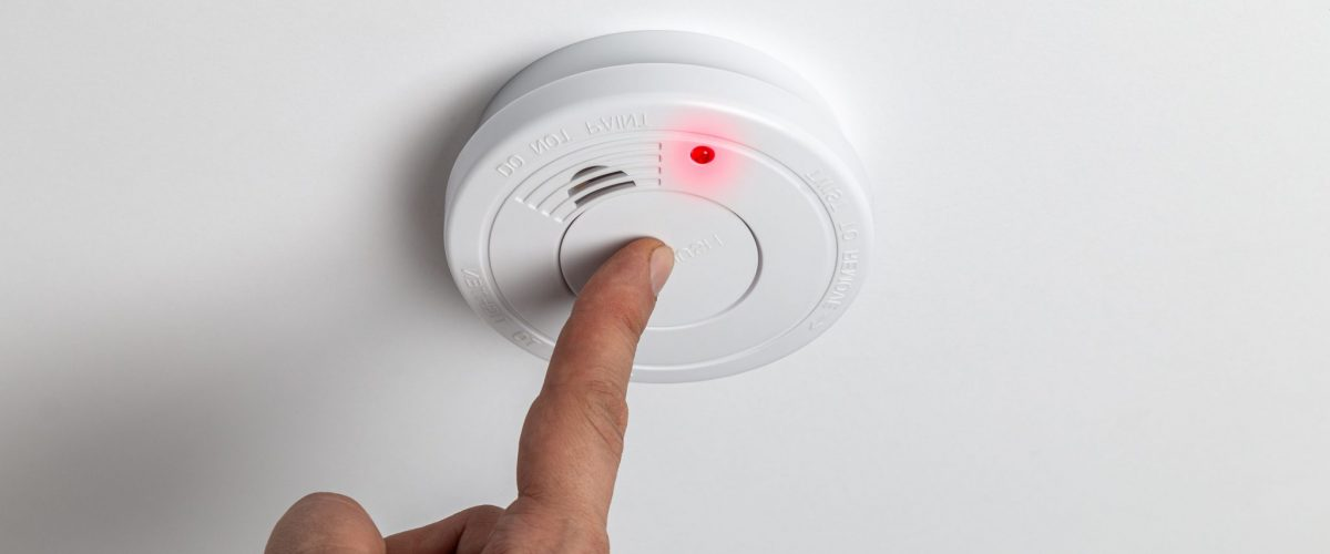 bigstock Testing Home Smoke Alarm Detec 364332277
