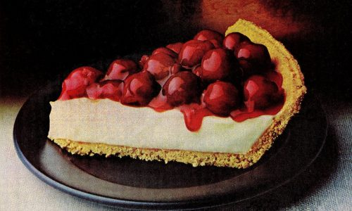 Cheery cherry cheese pie recipe 1978 1